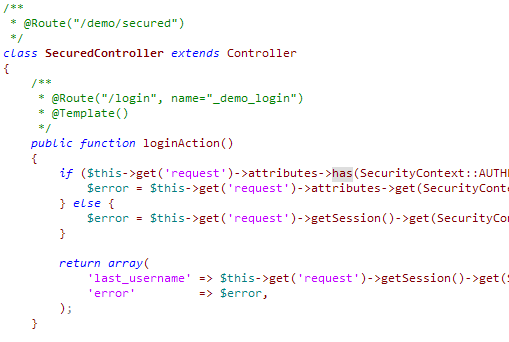Editplus/Symfony inv. like Netbeans light color scheme php