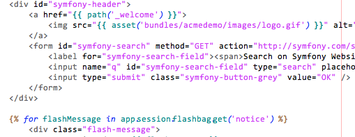 Editplus/Symfony inv. like Netbeans light color scheme twig
